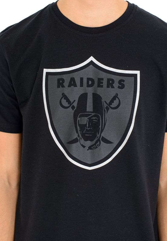 New Era NFL Fan Pack Tee Herren OAKLAND RAIDERS Schwarz – Bild 3