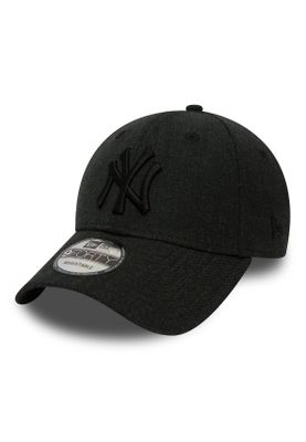 New Era Heather Essential 9Forty Adjustable Cap NY YANKEES Schwarz