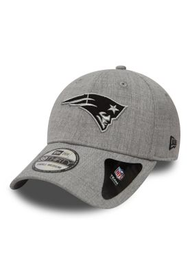 New Era Heather Essential 39Thirty Cap NEW ENGLAND PATRIOTS Hellgrau – Bild 0