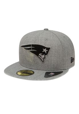 New Era NFL Heather 59Fifty Cap NEW ENGLAND PATRIOTS Grau – Bild 0