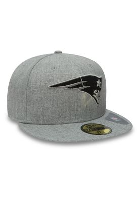 New Era NFL Heather 59Fifty Cap NEW ENGLAND PATRIOTS Grau – Bild 1