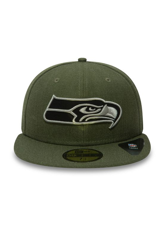 New Era NFL Heather 59Fifty Cap SEATTLE SEAHAWKS Khaki – Bild 1