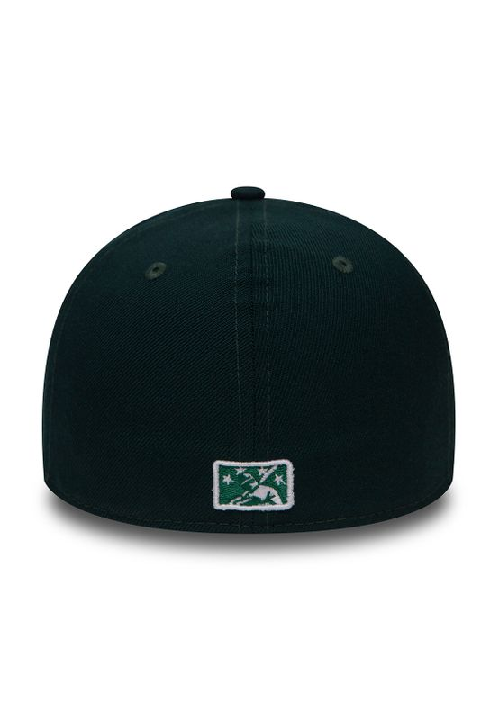 New Era MILB LP 59Fifty Cap BELOIT SNAPPERS Grün – Bild 3