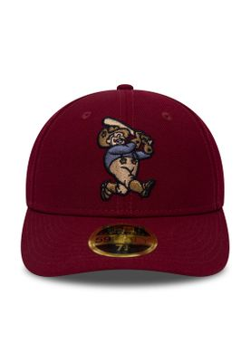 New Era MILB LP 59Fifty Cap FRISCO ROUGH RIDERS Rot – Bild 1