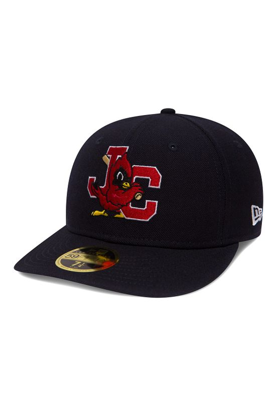 New Era MILB LP 59Fifty Cap JOHNSON CITY CARDINALS Blau – Bild 0