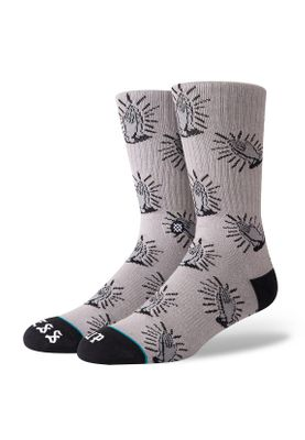 Stance Herrensocken CLASSIC BLESS UP Grey