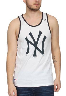 New Era Team Apparel Logo Tank Herren NEW YORK YANKEES Weiss – Bild 0