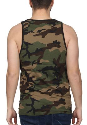 New Era Team Apparel Logo Tank Herren LA DODGERS Camouflage – Bild 1