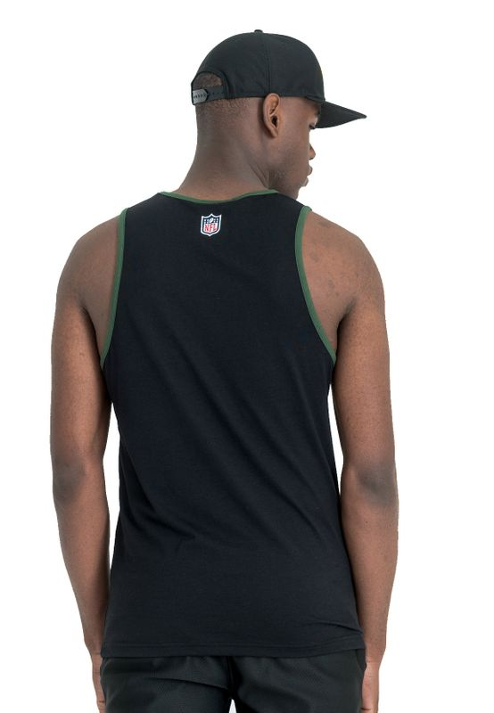 New Era Dryera Tank Herren GREEN BAY PACKERS Schwarz – Bild 2