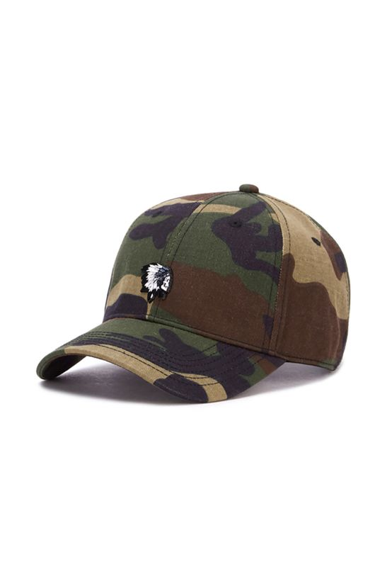 Cayler & Sons Cap FREEDOM CORPS CURVED Woodland Mc Ansicht