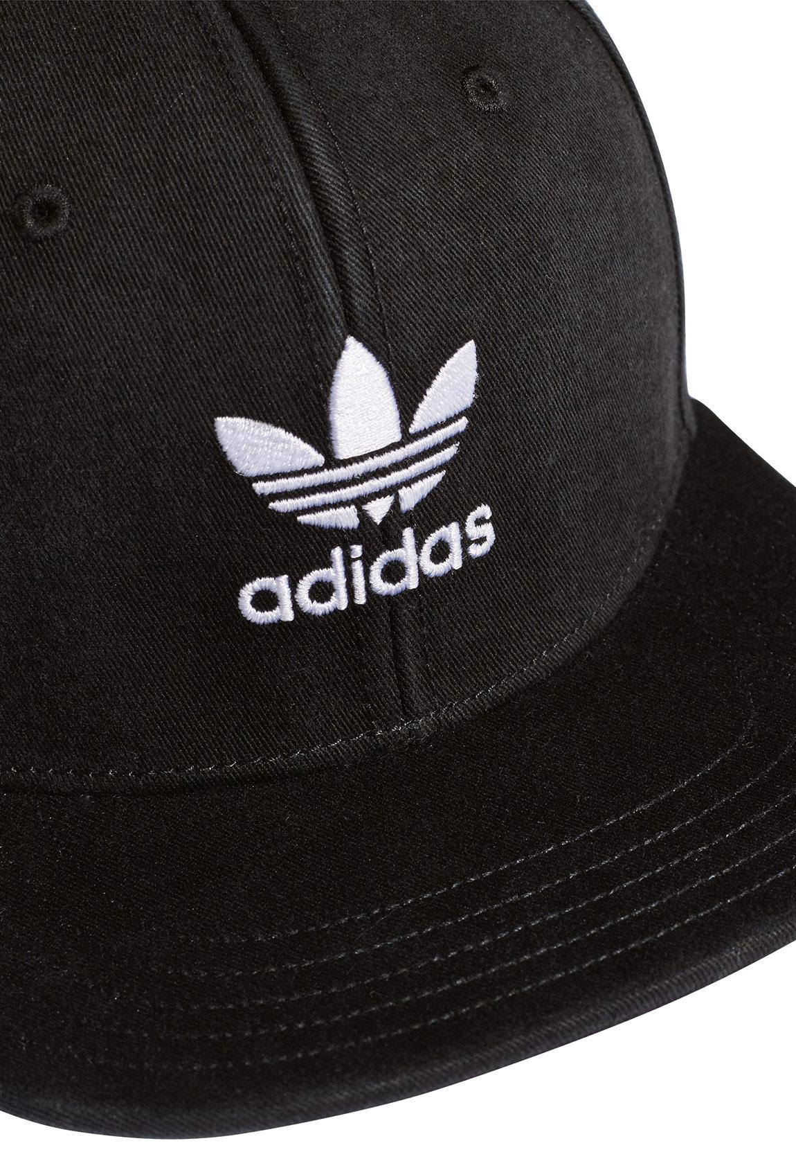 c2266410cf5 Adidas Originals Snapback AC CAP TRE FLAT DV0236 Schwarz Accessoires ...