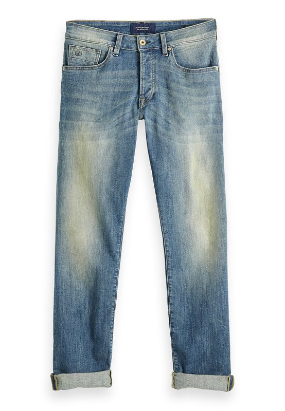 Scotch & Soda Jeans Men RALSTON 148324 Blau Greener than Green 2648 – Bild 1