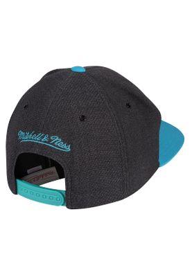 Mitchell & Ness Cap INTL256 CHARLOTTE HORNETS Grau Blau – Bild 1