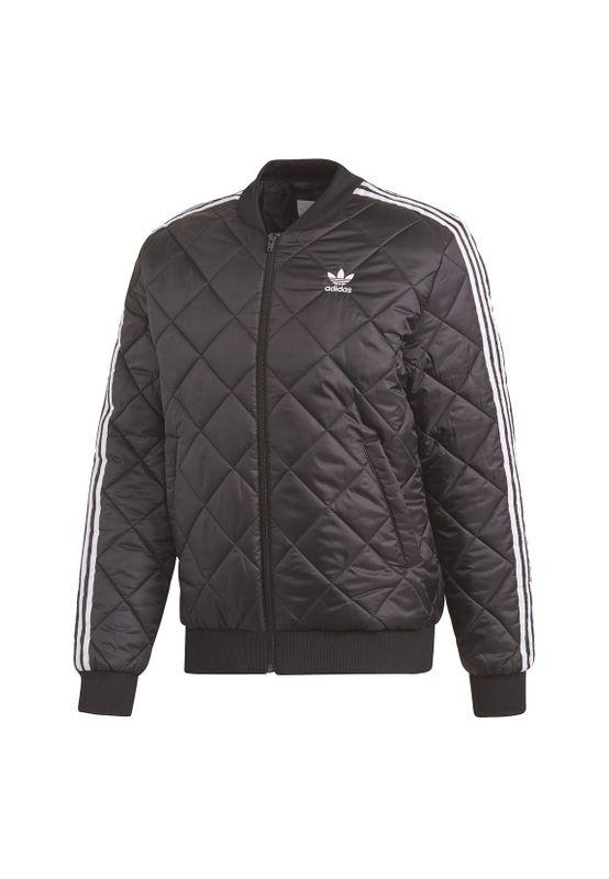Adidas Originals Jacke Herren SST QUILTED DV2302 Schwarz – Bild 1