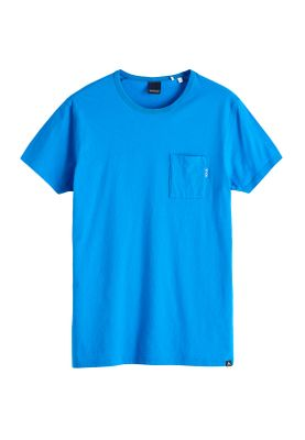 Scotch & Soda T-Shirt Men POCKET TEE 147612 Blau Ams Blauw 2540