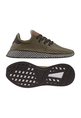 Adidas Originals Sneaker DEERUPT RUNNER BD7894 Khaki Schwarz Orange – Bild 0