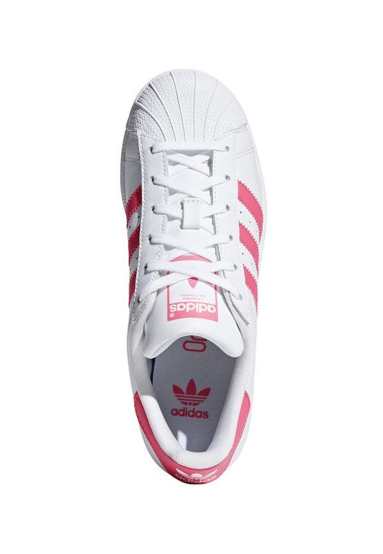 Adidas Originals Sneaker Damen SUPERSTAR CG6608 Weiss Pink – Bild 2