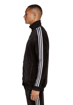 Adidas Originals Sweatjacke Herren COZY TRACK TOP DX3626 Schwarz – Bild 2