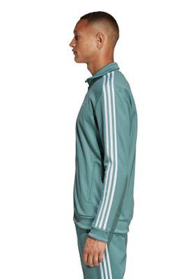 Adidas Originals Sweatjacke Herren BECKENBAUER TT DV1523 Türkis – Bild 2