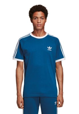 Adidas Originals T-Shirt Herren 3-STRIPES TEE DV1564 Blau – Bild 1