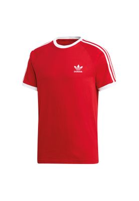 Adidas Originals T-Shirt Herren 3-STRIPES TEE DV1565 Rot – Bild 0