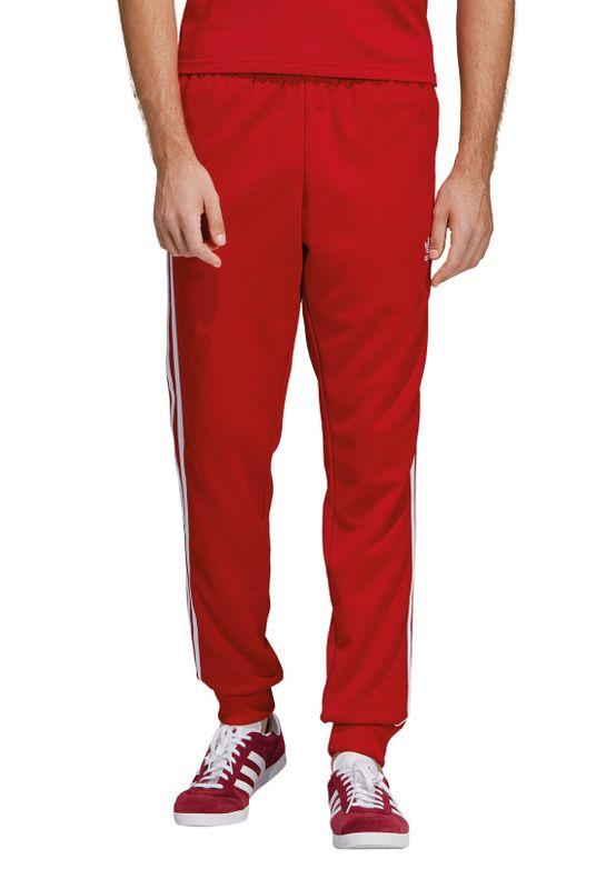 Adidas Originals Jogginghose Herren SST TP DV1534 Rot – Bild 1