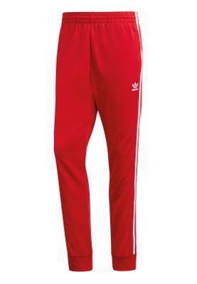 Adidas Originals Jogginghose Herren SST TP DV1534 Rot – Bild 0