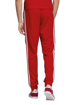 Adidas Originals Jogginghose Herren SST TP DV1534 Rot – Bild 3