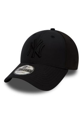New Era Sport Pique 9Forty Adjustable Cap NY YANKEES Schwarz Schwarz