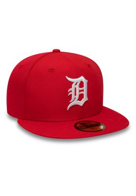 New Era Sport Pique 59Fifty Cap DETROIT TIGERS Rot – Bild 1