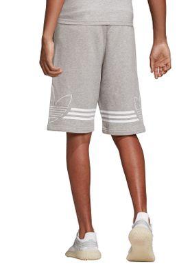 Adidas Originals Herren Short OUTLINE SHORT DU8136 Grau – Bild 3