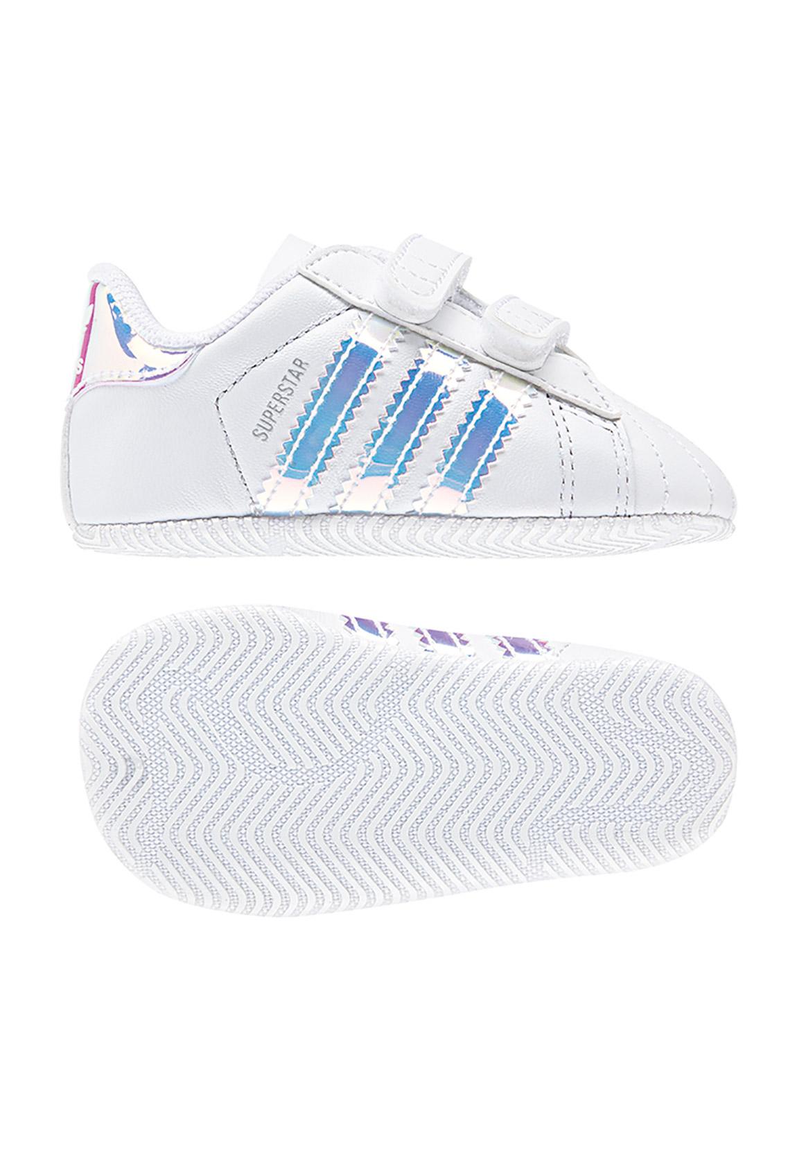 pretty nice 2c1c7 4a0de Adidas Babyschuhe SUPERSTAR CRIB BD8000 Weiss