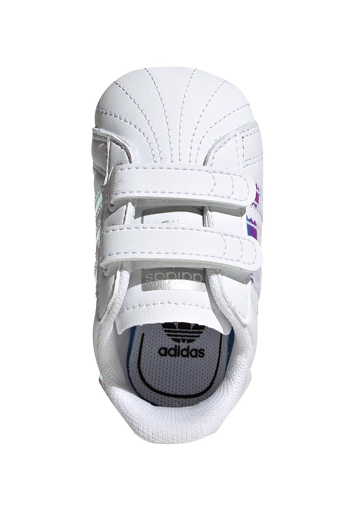 Adidas Babyschuhe SUPERSTAR CRIB BD8000 Weiss