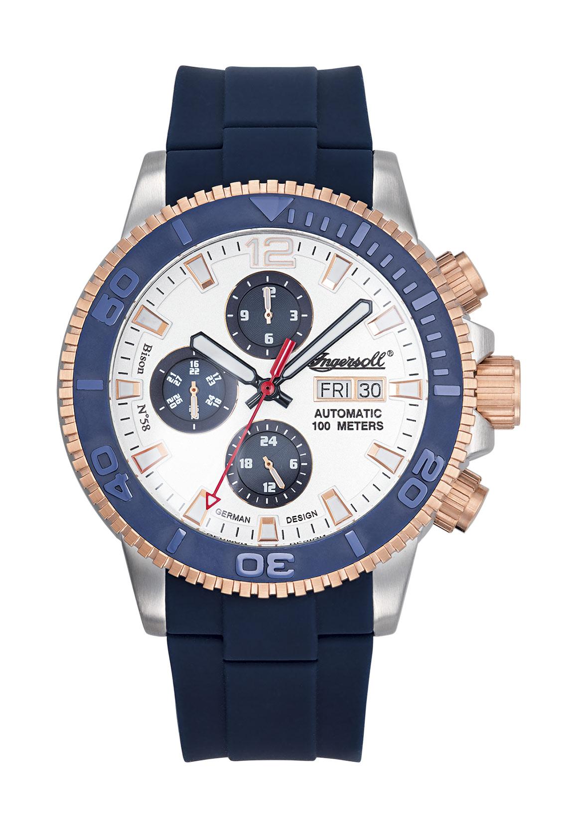 Ingersoll Armbanduhr BISON NO.58 IN1105BL