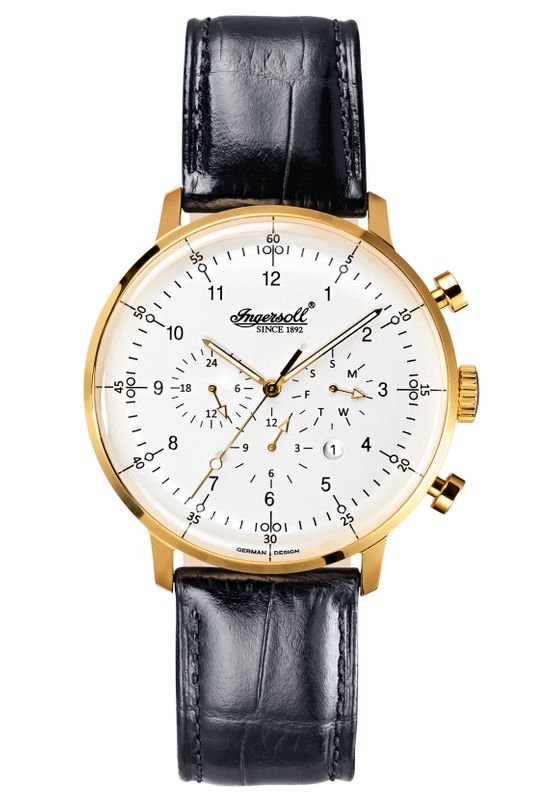 Ingersoll Armbanduhr HOUSTON IN2816GWH Ansicht