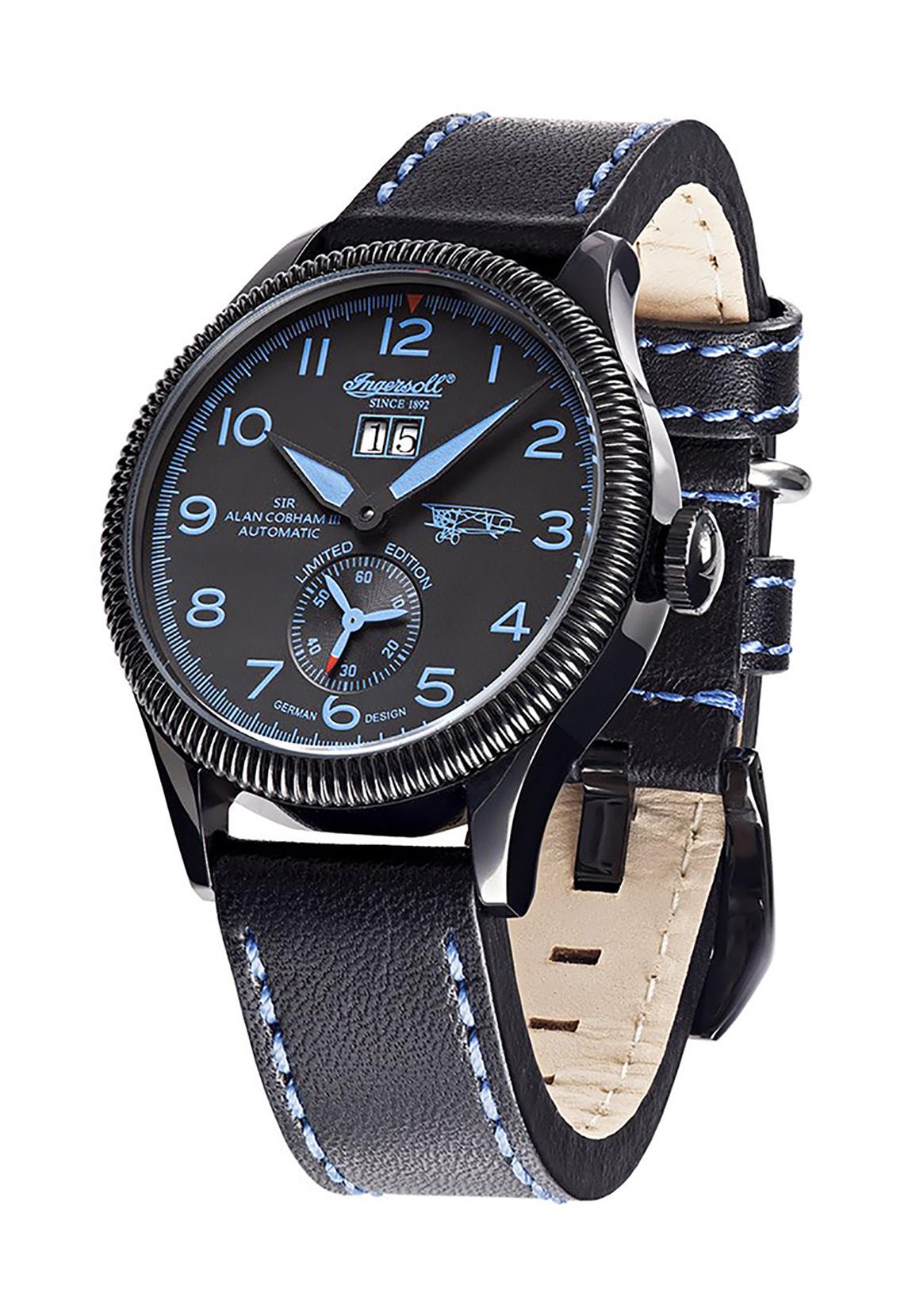 Ingersoll Armbanduhr SIR ALAN COBHAM III IN3108BBKB