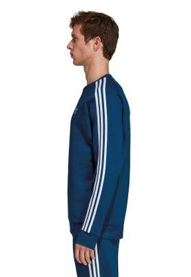 Adidas Originals Crewneck Herren 3-STRIPES CREW DV1554 Blau – Bild 2
