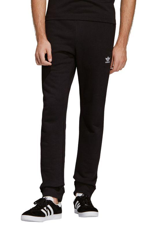 Adidas Originals Jogginghose Herren TREFOIL PANT DV1574 Schwarz – Bild 2