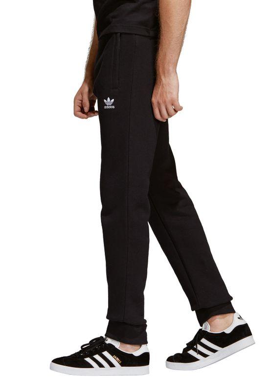 Adidas Originals Jogginghose Herren TREFOIL PANT DV1574 Schwarz – Bild 3