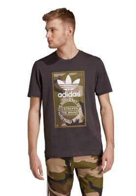 Adidas Originals T-Shirt Herren CAMO TEE DV2060 Schwarz – Bild 1