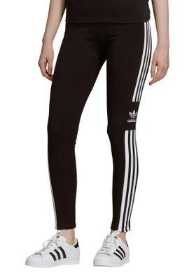 Adidas Originals Leggings Damen TREFOIL TIGHT DV2636 Schwarz – Bild 1