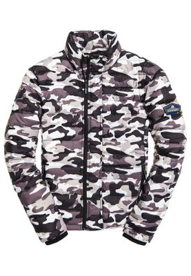 Superdry Jacke Herren DOUBLE ZIP FUJI Snow Camo