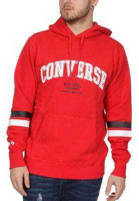 Converse Sweater Herren COLLEGIATE PO HOODIE 10017323 Rot 603 – Bild 0