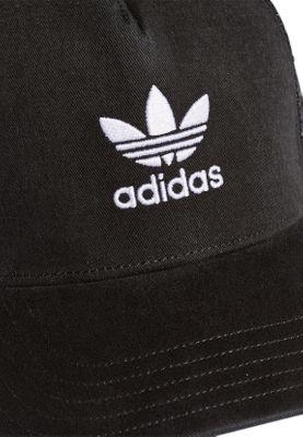 Adidas Originals Cap Trefoil Gorra Béisbol DV0233 Negro Blanco  56d1eb223f1