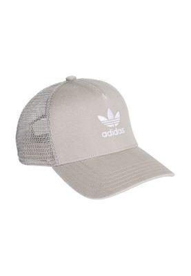 Adidas Originals Cap TREFOIL TRUCKER DV0232 Grau – Bild 2