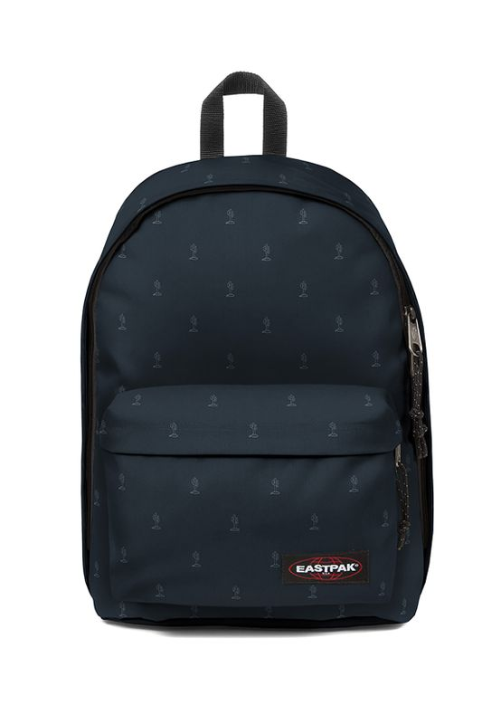 Eastpak Rucksack OUT OF OFFICE EK767 Dunkelblau 84V Mini Cactus – Bild 1