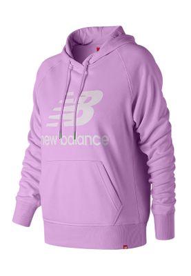 New Balance Damen Hoodie ESSE PO HOODIE WT91523 DVG Lila