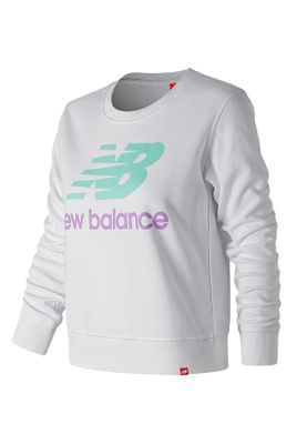 New Balance Damen Crewneck ESSENTIALS CREW WT91585 White