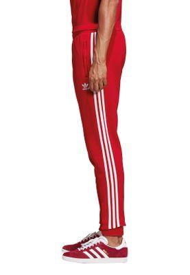 Adidas Originals Jogginghose Herren 3-STRIPES PANT DV1547 Rot – Bild 2