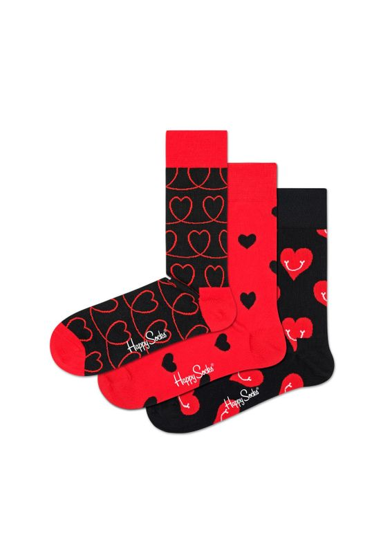 Happy Socks Geschenkbox I LOVE YOU GIFT BOX XLOV08-4300 Schwarz – Bild 1